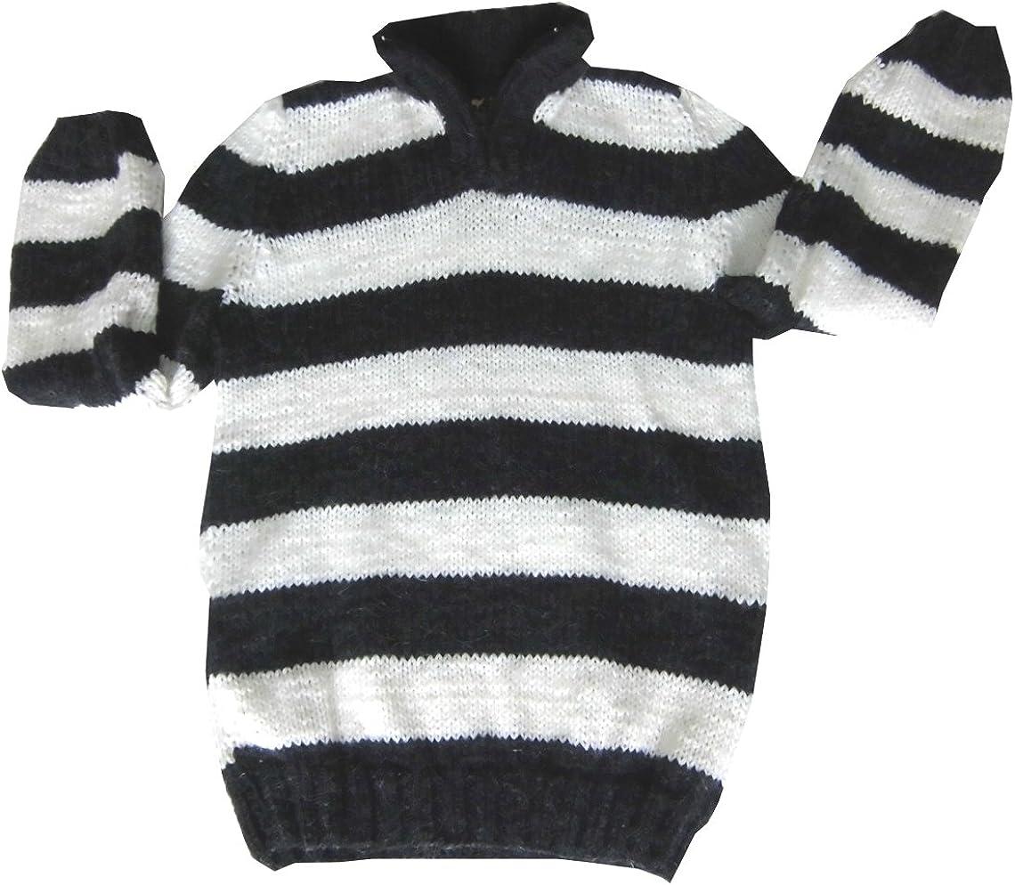 Alpakaandmore Boy Turtleneck Sweater Alpaca depot Strip 2-4 supreme Years Wool