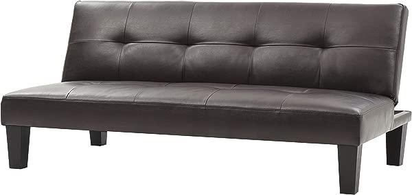 Glory Furniture G111 S Klik Klak Sofa Bed Cappuccino