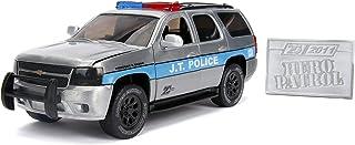 Jada Toys 20th Anniversary Hero Patrol 2010 Chevy Tahoe Die-Cast Car, 1:24 Scale Bare Metal