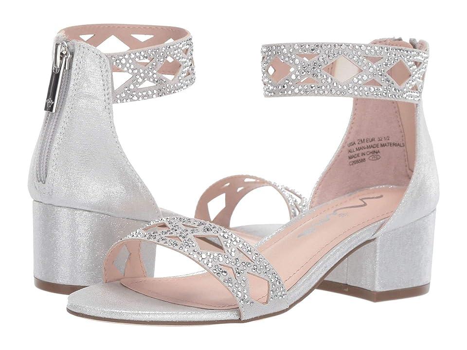 Nina Kids Kellsey (Little Kid/Big Kid) (Silver) Girls Shoes