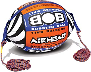 AIRHEAD AHBOB-1 Bob Tow Rope w/ Inflatable Buoy Booster Ball Lake Towables Tubes
