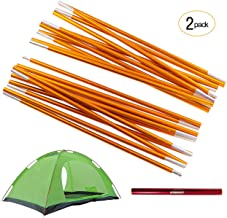 Overmont Camping Tent and Tarp Pole Replacement Aluminum Alloy Adjustable