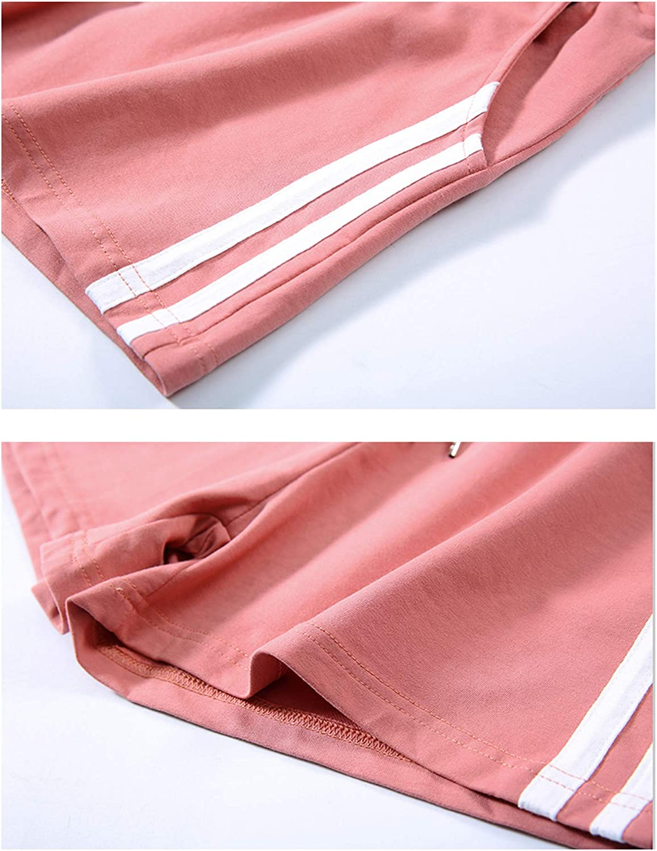 Mulanda Femm Pyjama Shorts 100/% Coton /ét/é Sport Shorts
