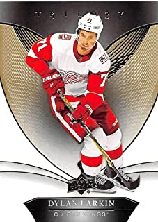 2018-19 Upper Deck Trilogy Hockey #7 Dylan Larkin Detroit Red Wings Official Trading Card From UD