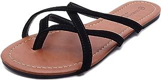 Charles Albert Summer Braided Easy Criss Cross Flip Flops Sandals