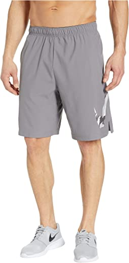 Flex Shorts Woven 2 Layer Camo