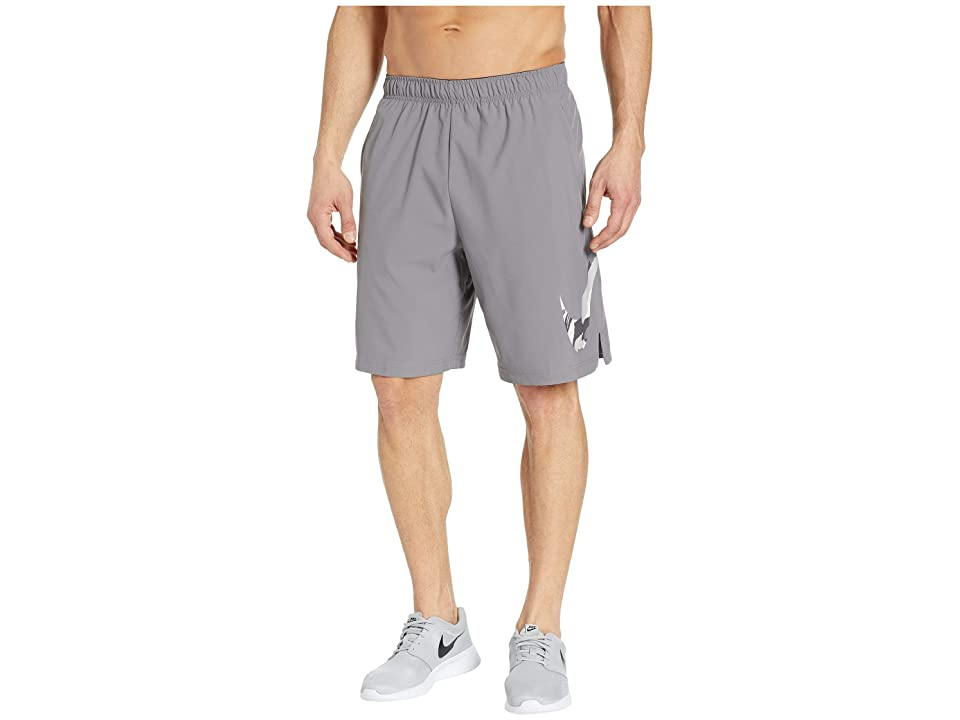 Nike Flex Shorts Woven 2 Layer Camo (Gunsmoke) Men
