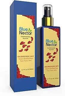 Blue Nectar Shubhr Steam Distilled Rose Toner Water & Face Tonic Mist (200 ml)