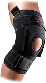 McDavid 428 Level 3 Knee Brace with Heavy Duty Polycentric Hinges (Black, Small)