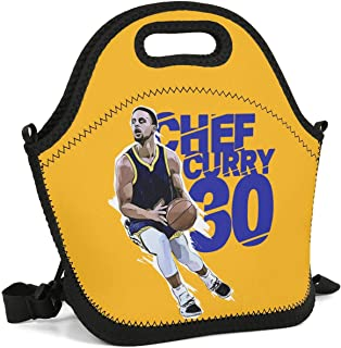 Sios07 Cool Basketball Theme Lunch Box Fashionable Tote Container New Cooler Thermal Office Lunch Bag Custom Vintage Healthy Perfect