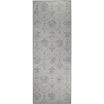RUGGABLE 131849WEB Crystal Art 2.5 x 7 Ombre Green 2-Piece Washable Rug System x7