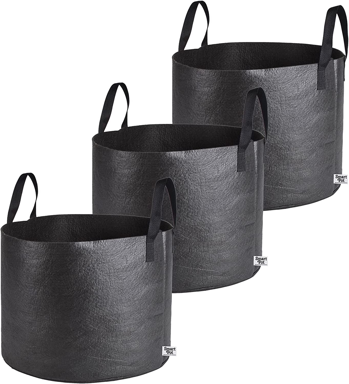 Manufacturer regenerated product 3 Under blast sales Pcs of Fabric Grow Planter Root Aeration Pots Handle with Bags