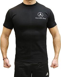 81599e613 OTO-MOTO T-Shirt Silver Star Autocollants Feuille Noir Logo Homme Coton  Peigné