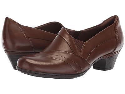 Rockport Cobb Hill Collection Cobb Hill Abbott Slip-On (Brown Leather) Women
