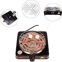 Kertou Cocina Estufa Eléctrica para Shisha Cachimba Carbón Hornillo 1000w Hot Plate Electric Cooking