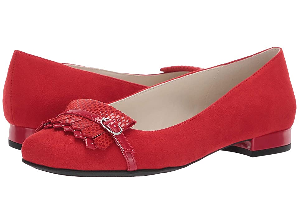 Anne Klein Ulanee Flat (Red) Women