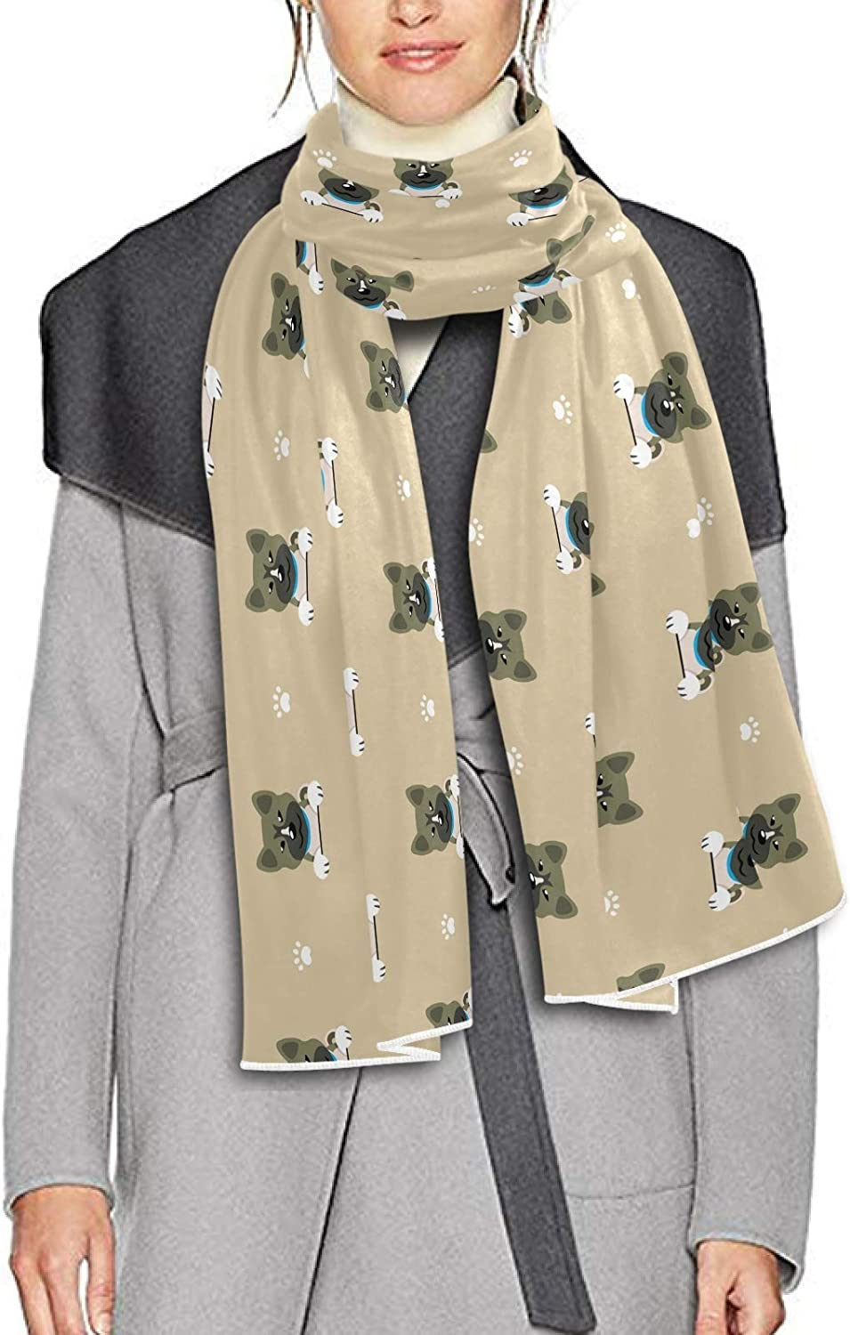 Scarf for Women and Men Character Akita Dog Shawl Wraps Blanket Scarf Warm soft Winter Long Scarves Lightweight