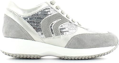 Geox , Chaussures de Ville Ville à Lacets pour Femme  vente en ligne