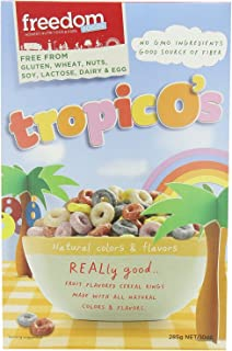 Freedom Foods TropicO's Breakfast Cereal – Allergen Friendly - BULK CASE: 5 X 10oz Boxes