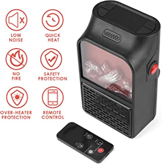 OH MY VAPOR Calentador de pared eléctrico portátil Mini-calefacción con tecnología de cerámica térmica para el hogar/oficina/camper