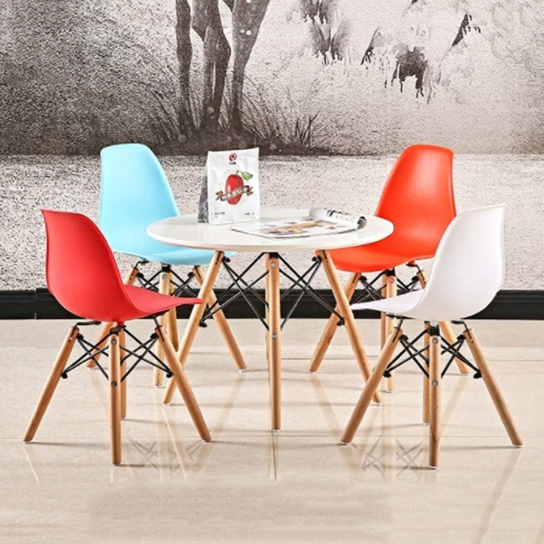 N / A Bar Tabouret de Bar Tabouret rétro Pieds en Bois Salon Chambre Cuisine Bureau Design Chaise (Couleur, I),Je Je