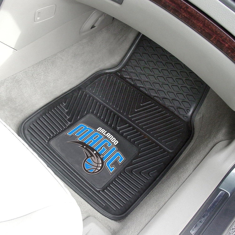 Fanmats Orlando Magic Sports Team Logo Heavy Duty 2 Pc Vinyl Car Mats Tailgating Accessory