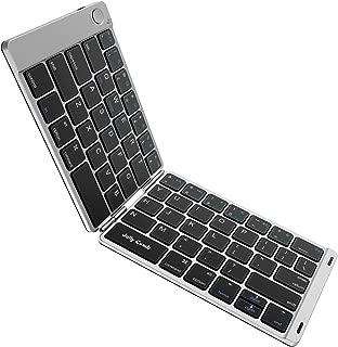 Folding Keyboard, Jelly Comb Ultra Slim Foldable BT Keyboard B047 Rechargeable Pocket..
