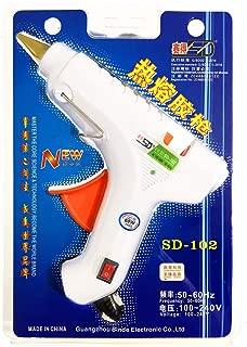 60W Hot Melt Glue Gun with Free 10 pcs 11.2mm x 250mm Glue Stick Industrial Gun