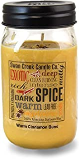 Swan Creek Candle Warm Cinnamon Buns 24 Oz Candle