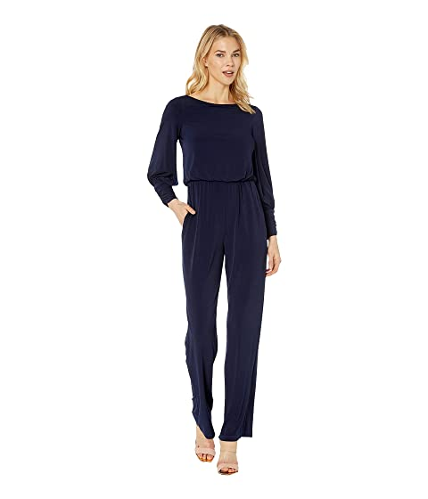 d6f2543f2da Vince Camuto ITY Blouson Jumpsuit with Gathered Cuff at Zappos.com