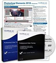 $39 » Learn Photoshop Elements 2018 DELUXE CPE Training Tutorial Package Video Lessons, PDF Instruction Manuals, Printed and Laminated Quick Reference Guide, Testing Materials, and Certificate of Completion