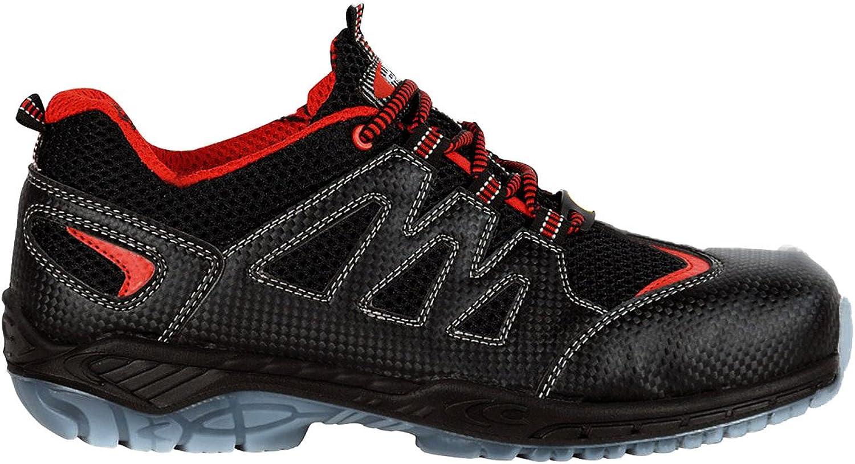 Cofra 30190-000.W46 Size 46 Climbing  S1 P ESD SRC Safety shoes - Black orange