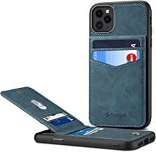 iPhone 11 Pro Max Card Holder Case iPhone 11 Pro Max Wallet Case Spaysi Slim iPhone 11 Pro Max Folio Leather Case Flip Cover for iPhone 11 Pro Max Case with Vertical Stand (Blue)