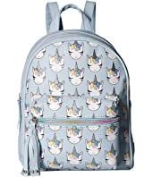 Unicorn Print Mini Backpack