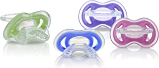Nuby 2-Pack Gum-eez Pacifier Teethers, Colors May Vary