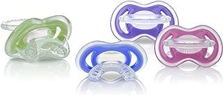 Nuby 2-Pack Gum-eez Pacifier Teethers, Colors May Vary