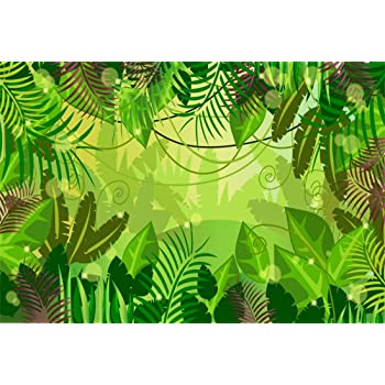 Yeele 10x8ft Adventure Photography Background Tropical Palm Leaves Painting Drawing Compass Camera Travel Around The World Summer Party Photo Backdrops Portrait Shooting Studio Props Wallpaper