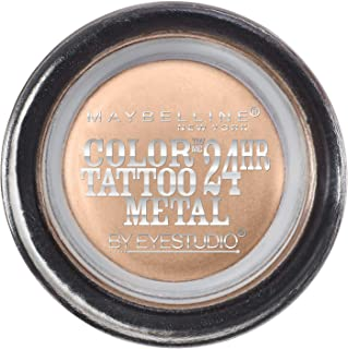 Maybelline New York Eyestudio ColorTattoo Metal 24HR Cream Gel Eyeshadow, Barely Branded,..