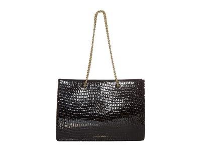 Loeffler Randall Alma Large Shopper Tote (Black) Handbags