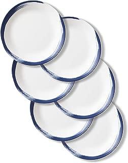 Corelle Chip Resistant Dinner Plates, 6-Piece, Vivid Splash
