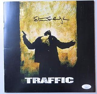 Steven Soderbergh Signed Autographed Program Traffic Director JSA II60637