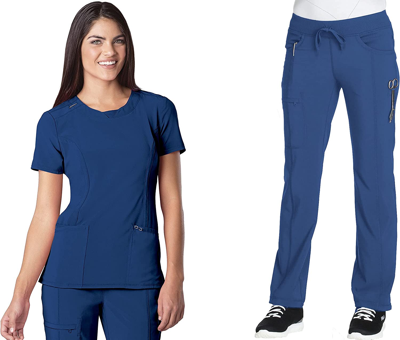CHEROKEE Infinity Women's Medical Uniforms Set 2624A - sale Scrub Be super welcome Rou