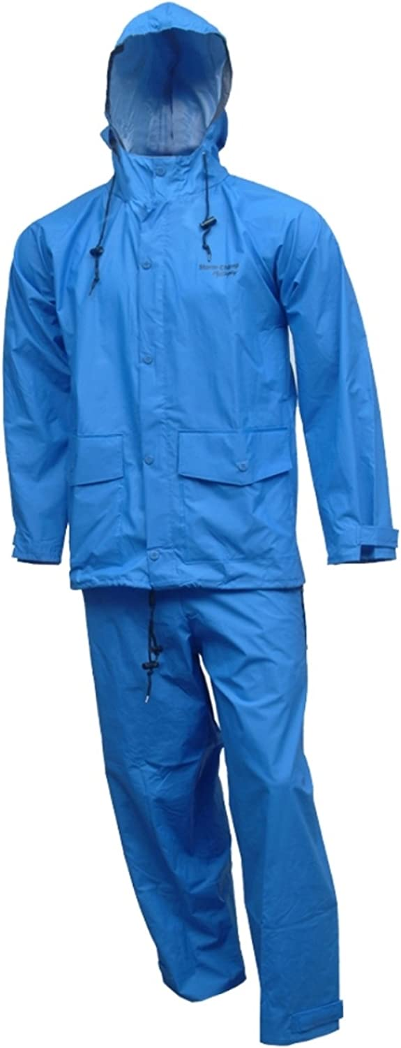 Tingley Rubber S66211 2-Piece R.B. Storm Champ Rain Suit, XX-Large, Blue : Clothing, Shoes & Jewelry