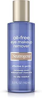 Neutrogena Oil-Free Gentle Eye Makeup Remover, 5.5 Fl. Oz.