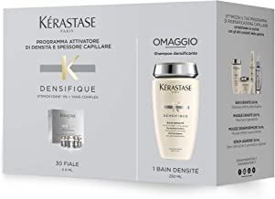 Kerastase Densifique Soin Cuir Chevelu 30 X, 30Count & Bain Densite Bodifying Shampoo 8.5 Ounce ,, 30Count ()