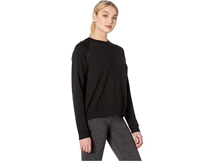 Beyond Yoga Cozy Fleece Favorite Raglan Crew Pullover Felpa a Girocollo Donna