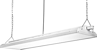 Hyperikon 4 Foot Linear LED High Bay Lights with Motion Sensor, Hanging Shop Light, UL, 480 Watts