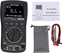 Multímetro digital, osciloscópio portátil de 2,5 ms/s para resistência para eletrônicos para capacitância para tensão/corr...