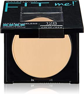 maybelline fit me pressed powder creamy natural 135