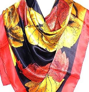 شال شال كبير جدًا 100% فاخر من الحرير Charmeuse من Silk Salon A1200